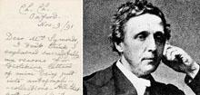 Баснословная цена за письмо Льюиса Кэрролла